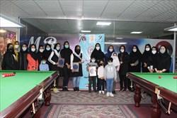 برگزاری اختتامیه دومین دوره مسابقات پاکت بیلیارد بانوان سیستان و بلوچستان