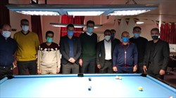 حضور مدیران ورزش شهرداری تهران در فدراسیون بولینگ و بیلیارد