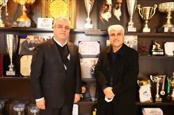 نشست هاشم اسکندری با رئیس سازمان ورزش شهرداری تهران