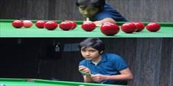 دانش آموز برتر سیستان و بلوچستانی قهرمان مسابقات استعدادیابی مجازی زیر 14 سال اسنوکر کشور
