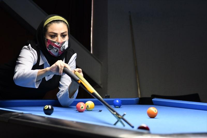 پریسا منگلی قهرمان بیست و ششمین رنکینگ کشوری ناین بال شد