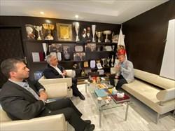 نشست مشترک اسکندری با رئیس هیات کرمانشاه