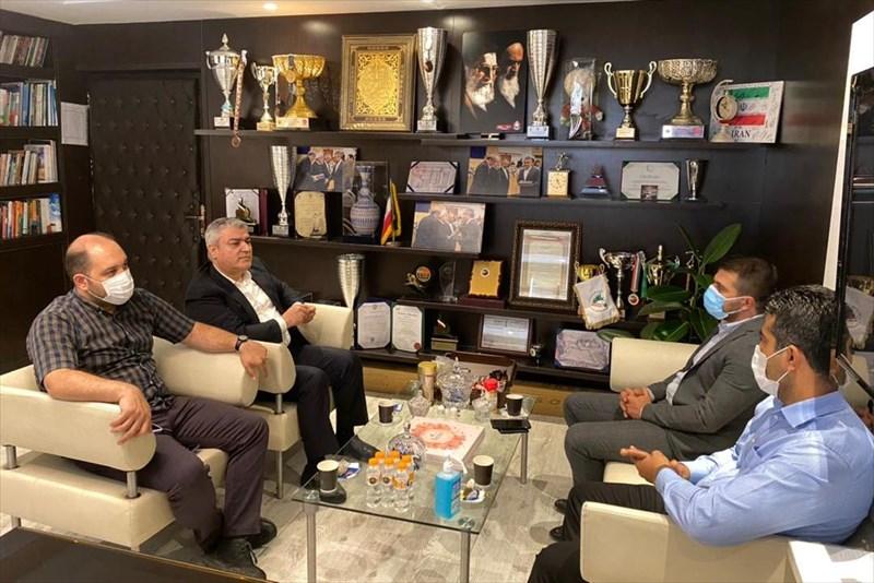 حضور رئیس هیات قزوین در فدراسیون