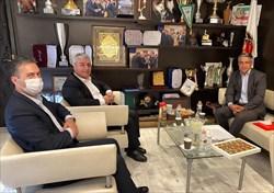 دیدار اسکندری با رئیس هیات آذربایجان شرقی