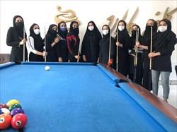 الهام نصیر زاده قهرمان رقابت های تن بال خراسان رضوی شد