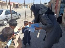 توزیع سی هزار ماسک ارسالی به سیستان و بلوچستان