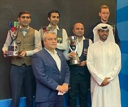 سرخوش به مدال برنز اسنوکر جام جهانی دست یافت